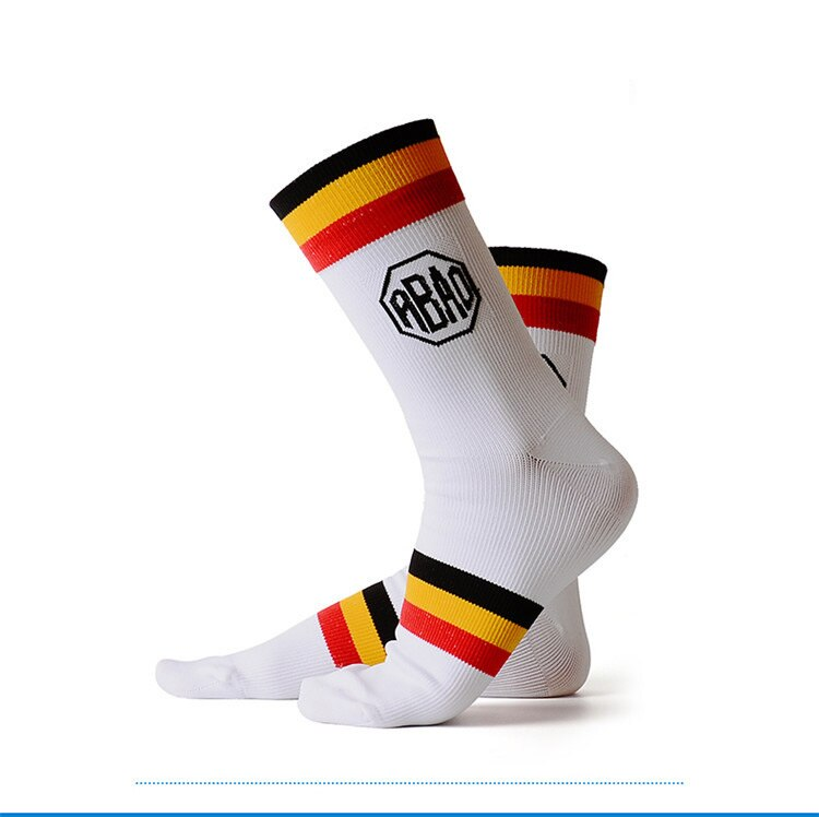 Quick-dry Striped Basketball Socks Breathable