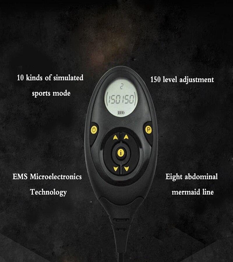 Abdominal Belt Electrical Muscle Stimulator EMS Massager Slimming Belt Fitness Massage ABS Trainer Electric Body Bauchtraining