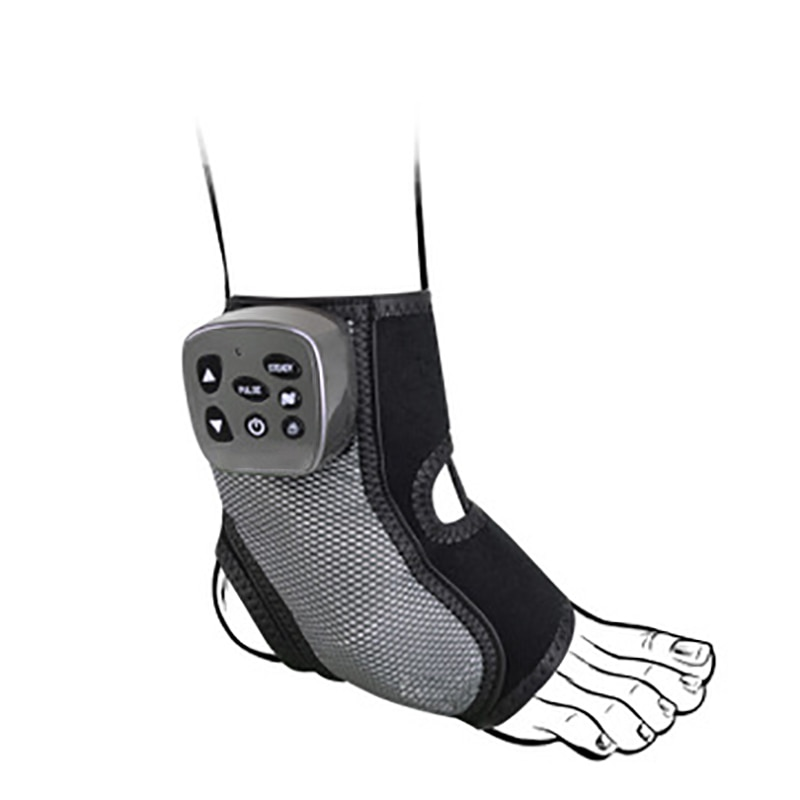 Electric Foot Therapy Multi-frequency Foot Massager Ankle Joint Massage Ligament Strain Heating Vibration Physiotherapy