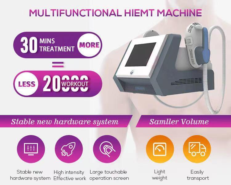 Portable Ems Sculpting Muscle Stimulator Body Shaping Butt Lift Fat Reduce Machine