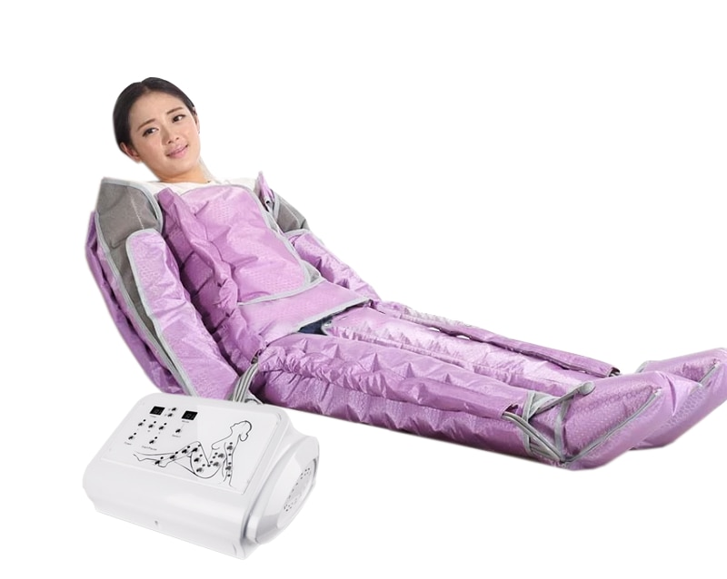 Professional 40 Air Bags Pressotherapy Compression Massager Presoterapia Machine Lymphatic Drainage Body Shaping Equipment