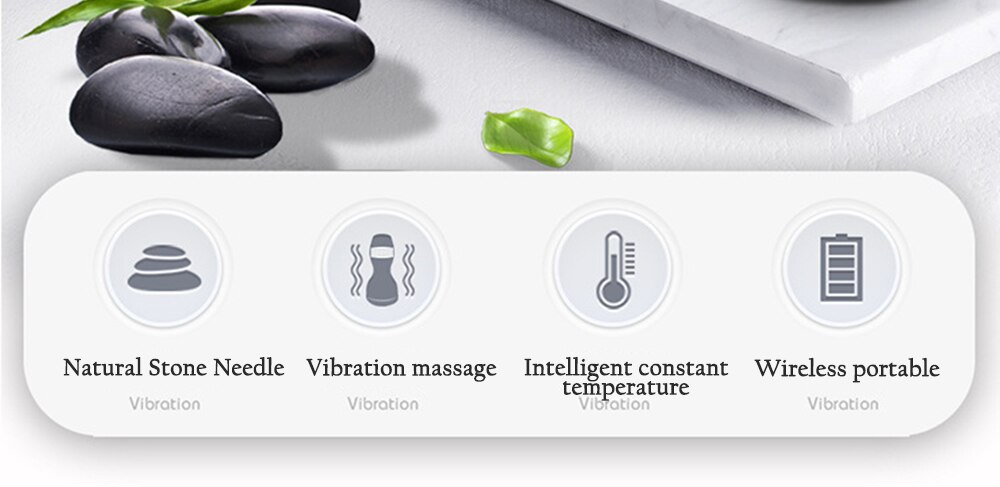 Rechargeable Electric Body Massage Anti Cellulite Scraping Guasha Infrared Heating Vibration Meridian Massage Health Care