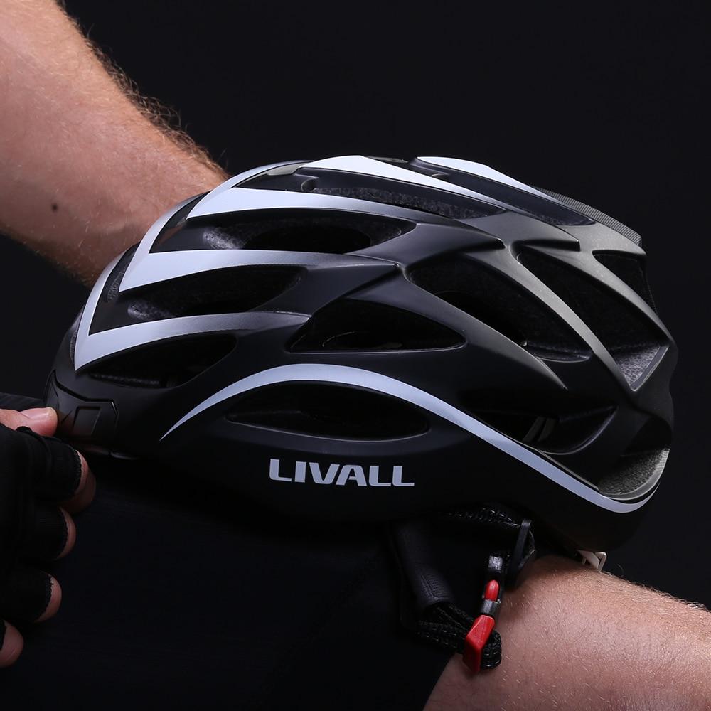 LIVALL&SMART4U BH62 Bike Helmet Men Women with Auto Sensor LED Sides Built-in  Bluetooth Mic Speakers MTB Helmet by LIVALL APP