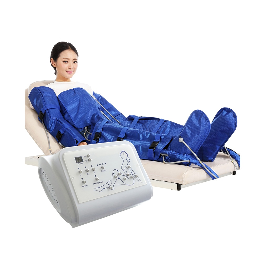 Lymphatic Drainage Vacuum Therapy Pressotherapy Slimming Machine
