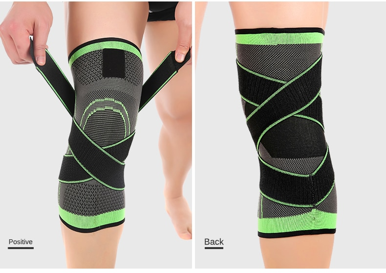 Sports Fitness  Knee Pads Support Bandage Braces Elastic Nylon Sport Compression  Sleeve for Basketball