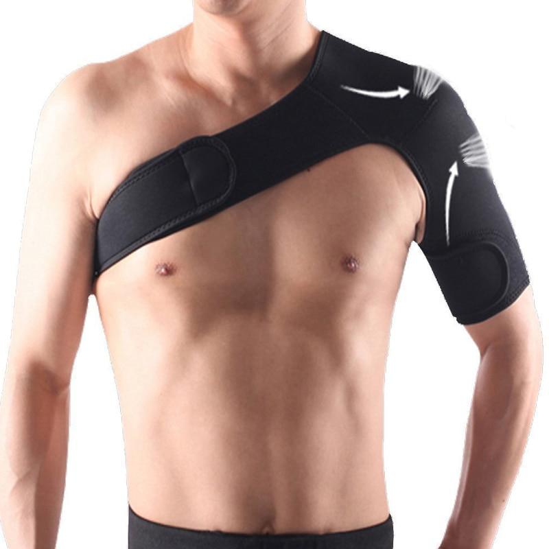 Tcare Adjustable Shoulder Brace Men Women, Shoulder Stability Support Brace for Torn Rotator Cuff Support Tendonitis Dislocation