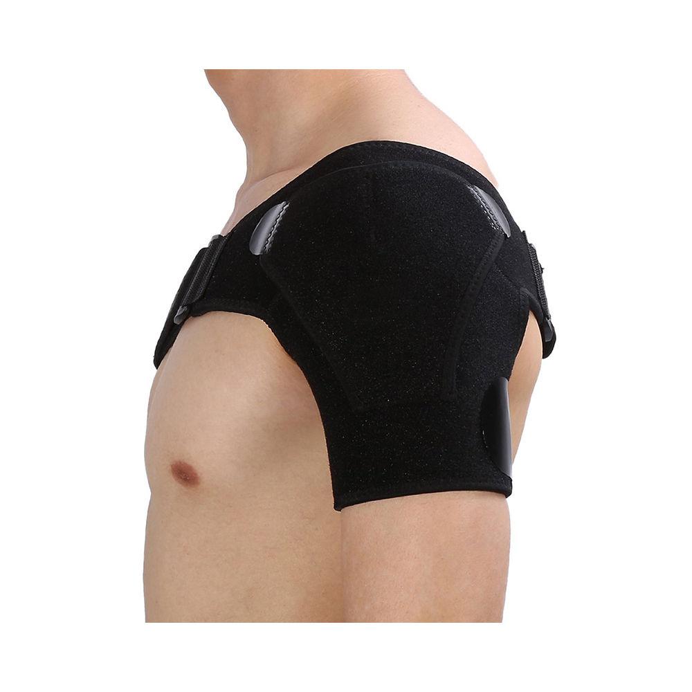 Adjustable Left/Right Shoulder Support Bandage Protector Brace Joint Pain Injury Shoulder Strap Guard Strap Wrap Belt