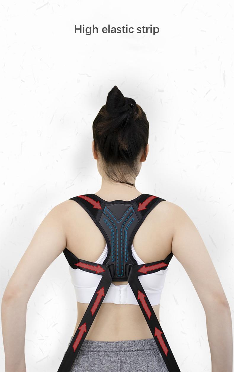 Adjustable Posture Corrector Back Support Shoulder Back Brace Posture Correction Spine Postural Corrector S-XL size