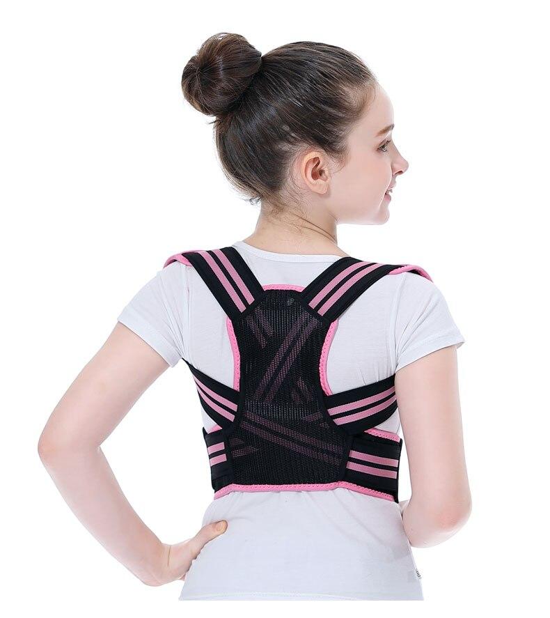 Adjustable Children Posture Corrector Back Support Belt Kid Boy Girl Orthopedic Corset Spine Back Lumbar Shoulder Braces Health
