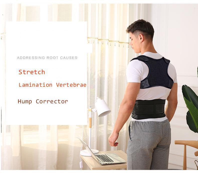 Invisible Back Posture Corrector Trainer Adjustable Shoulder Brace Straight Holder Clavicle Support for Men Women Adult Children