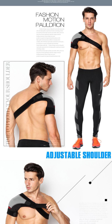 Sangles de Protection dorsale réglables, attelle, pour le sport, les épaules, le volley-ball, le Taekwondo