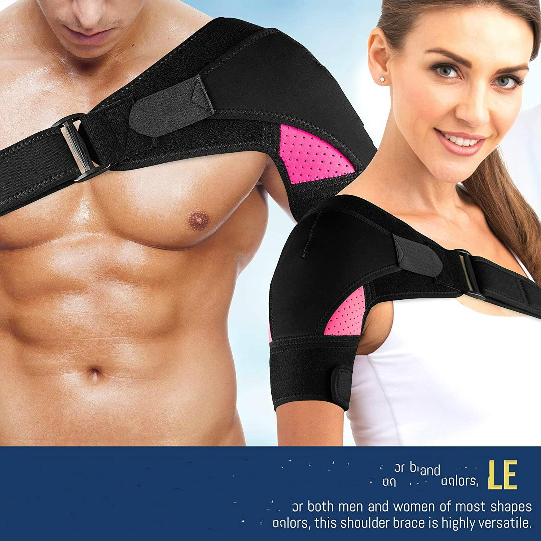 Shoulder Brace Support With Adjustable Strap Breathable Neoprene Shoulder Support