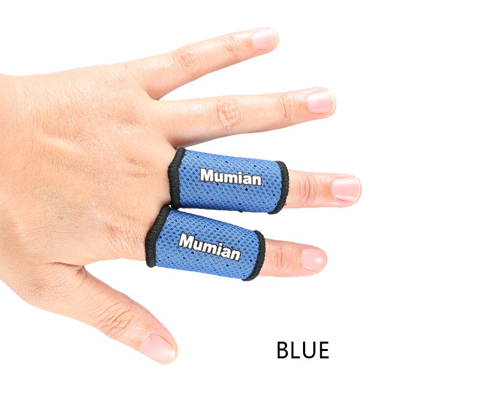 2PC Mumian Elastic Finger Sleeve Nylon Breathable Finger Support Band Basketball Volleyball Elastic Finger Tape Protection Guard